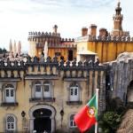 シントラ観光-ムーアの城跡&ペーナ宮殿&王宮