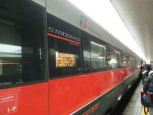 ナポリ行きの列車