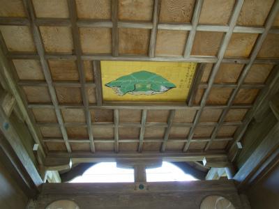 奥津宮の八方睨みの亀