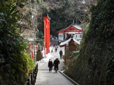 江島神社の近道