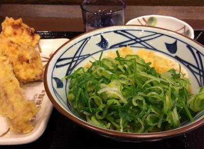 丸亀製麺のぶっかけ