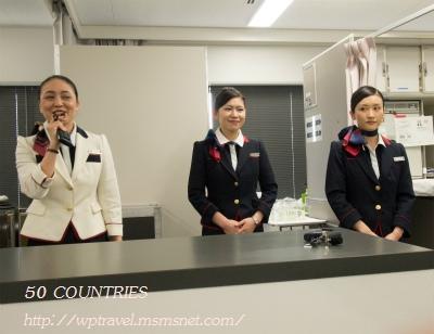 機内での客室乗務員(CA)のお仕事