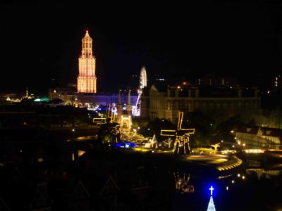 ホテルオークラJRハウステンボスからの眺め夜