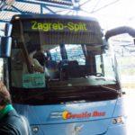 クロアチアの長距離バス事情