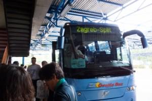 クロアチア長距離バス