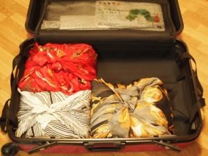 スーツケースパッキング