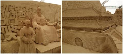 ヨコハマ砂の彫刻展2014