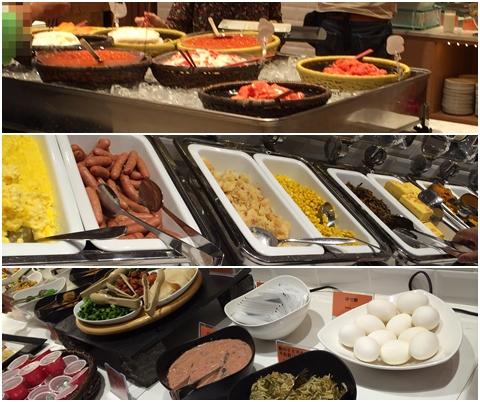 函館国際ホテル朝食アゼリア
