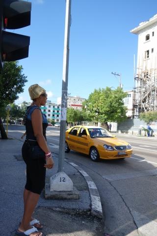 ハバナのタクシー