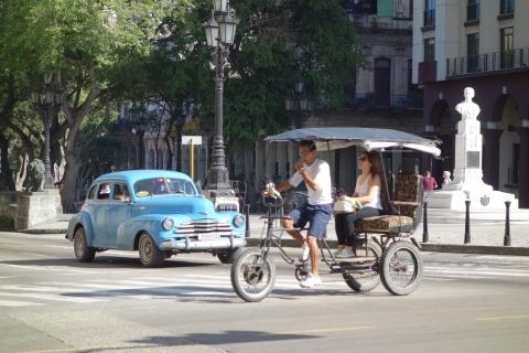 ハバナのバイクタクシー