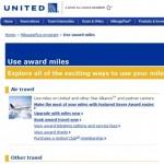 ユナイテッド航空のマイルをANA国内線の特典旅行に使うのはお得!