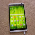 タブレットHuawei MediaPad M1 LTEと格安データSIMを購入