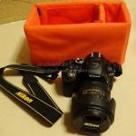 旅行で一眼レフカメラを持ち運ぶためにインナーソフトボックスを購入