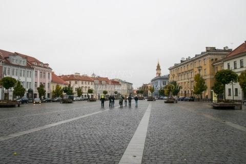 ヴィリニュス旧市庁舎広場