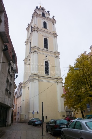 ヴィリニュス聖ヨハネ教会の鐘楼