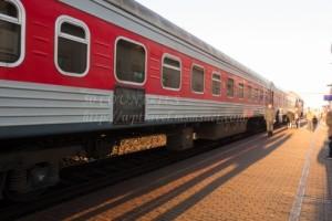 リトアニアの列車