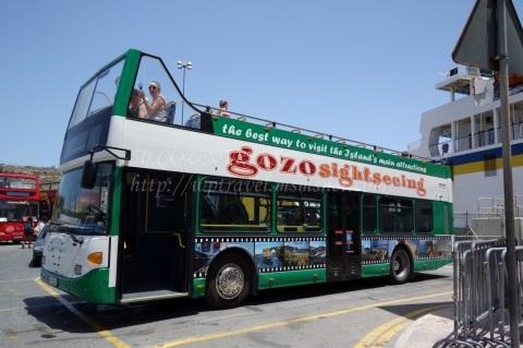 マルタHop on-Hop offバス