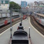 シベリア鉄道の最東端ウラジオストク駅を見学