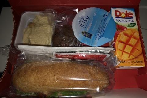コロナ禍ターキッシュエアラインズ機内食