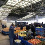 市場(パザール)でのお買い物と野菜料理