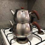 慣れると便利な紅茶用の2段式ポット