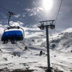 20年ぶりのスキー場で眺める雪景色