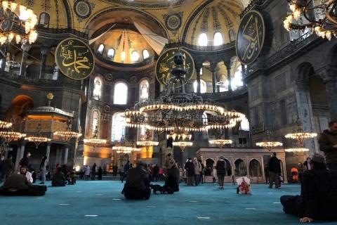 モスクになったアヤソフィア