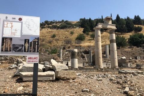 エフェソス遺跡-プリタネウム