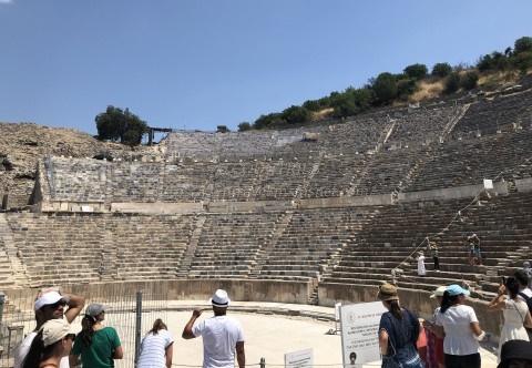 エフェソス遺跡-大劇場