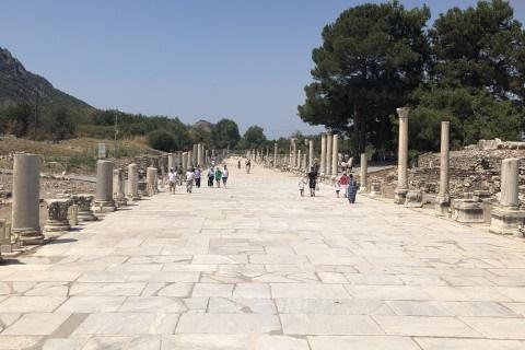 エフェソス遺跡-アルカディアン通り