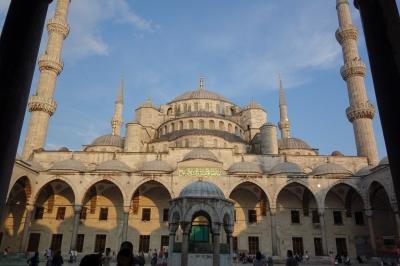 イスタンブールのブルーモスク