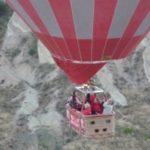 カッパドキアの熱気球体験