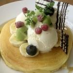 テラスモール湘南「j.s. pancake cafe」のパンケーキ